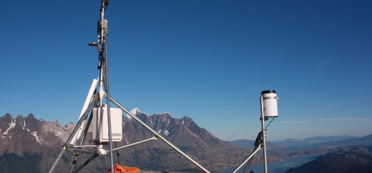 New weather station installed on the Patagonian Ice Cap